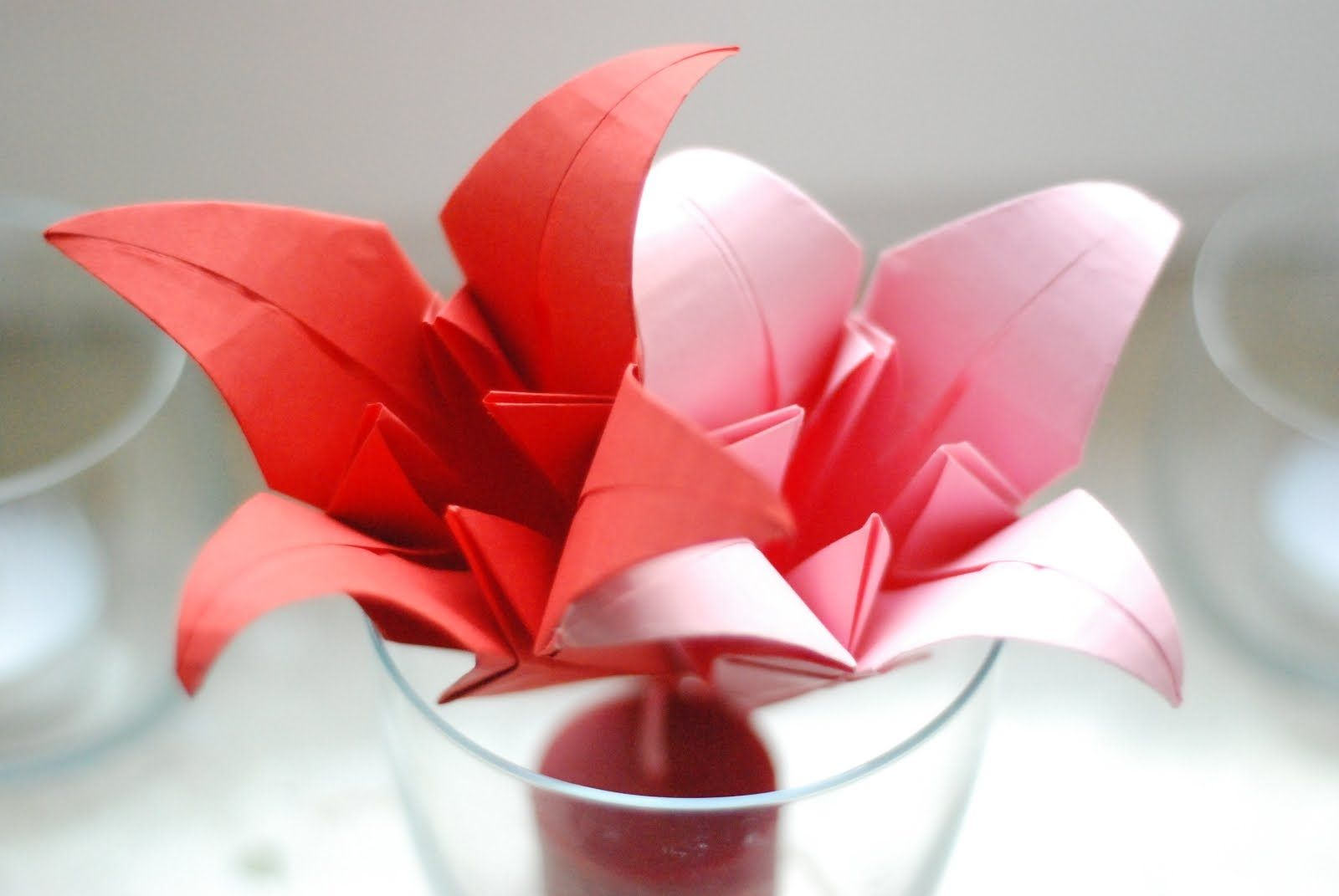 Lilia Origami Instrukcja Instruction Instructions Handmade