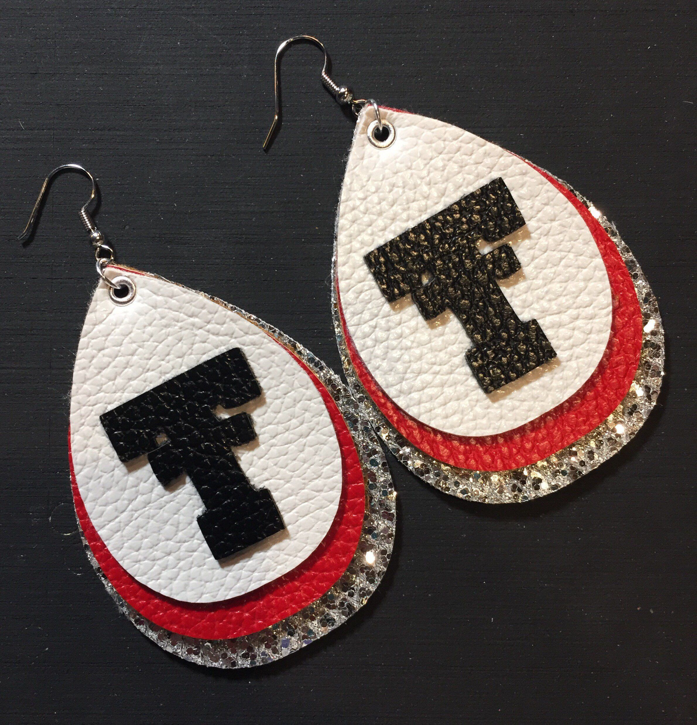 Texas Tech Jewelry Diamontrigue Jewelry: Excited To Share This Item From My #etsy Shop: Texas Tech