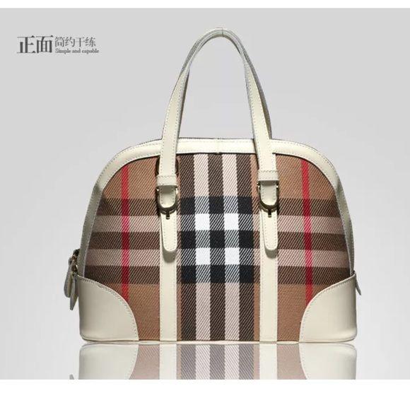 Coming soon Women British portable shoulder diagonal bag Material: Cow leather +Canvas  Size:42cm*34cm*24cm Bags Shoulder Bags