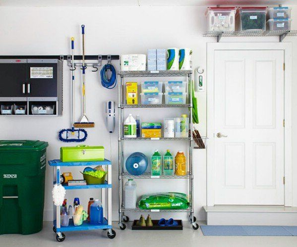 49 Brilliant Garage Organization Tips, Ideas And DIY Projects | Garage  Organization, Small Spaces And Organizations