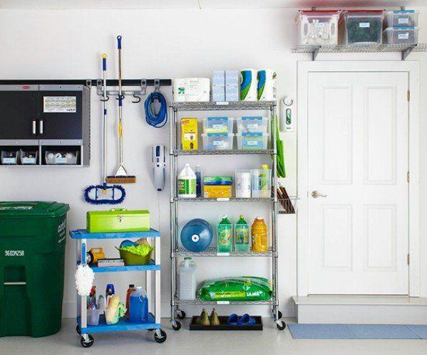 49 Brilliant Garage Organization Tips, Ideas And DIY Projects | Garage  Organization, Small Spaces And Organizations