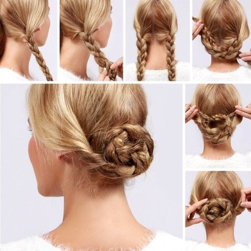 Hairstyles Step By Step step by step amazing flower blossom hairstyle tutorial Step By Step Hairstyles For Long Hair Page 12 Of 29 Hairstyle Monkey