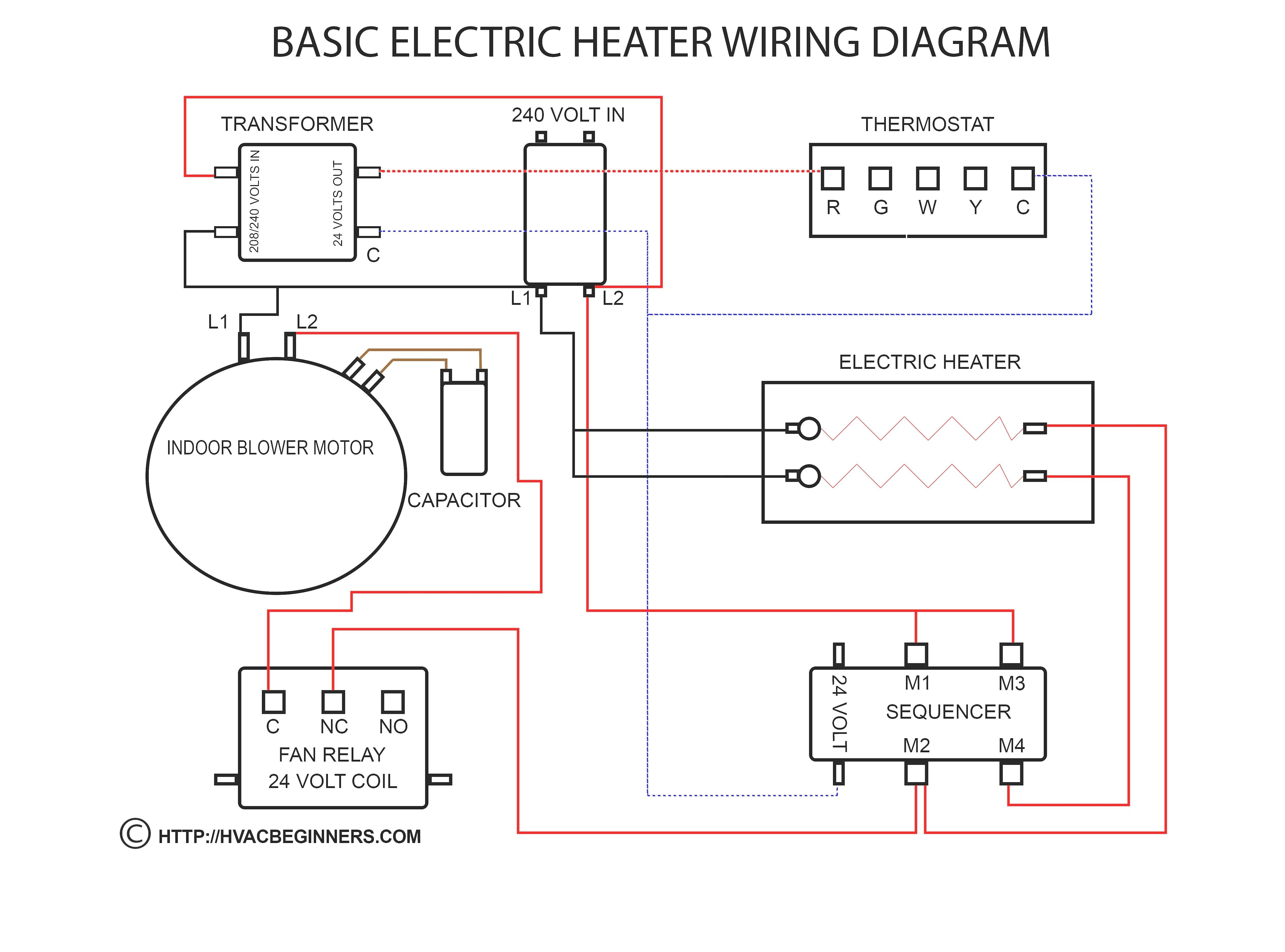 House Thermostat Wiring Diagram from i.pinimg.com