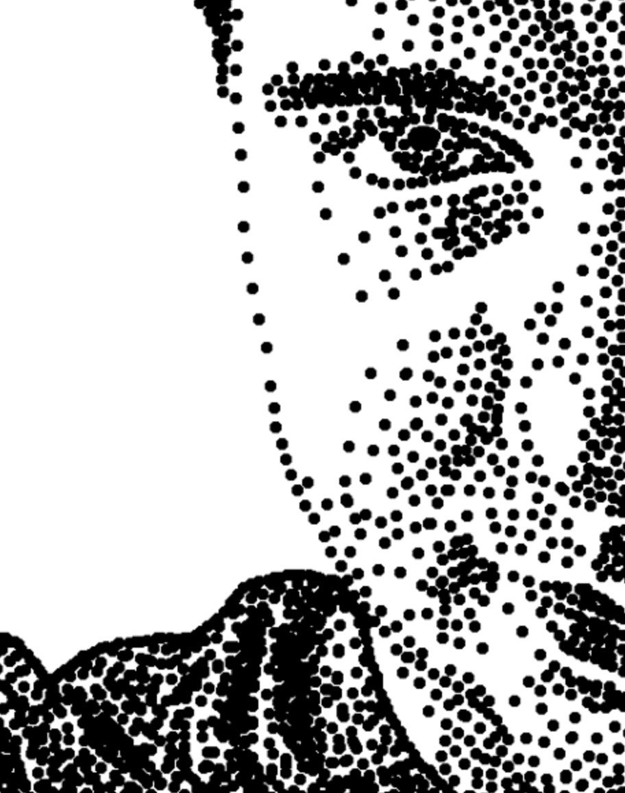 Pin on Stippling & Pointillism