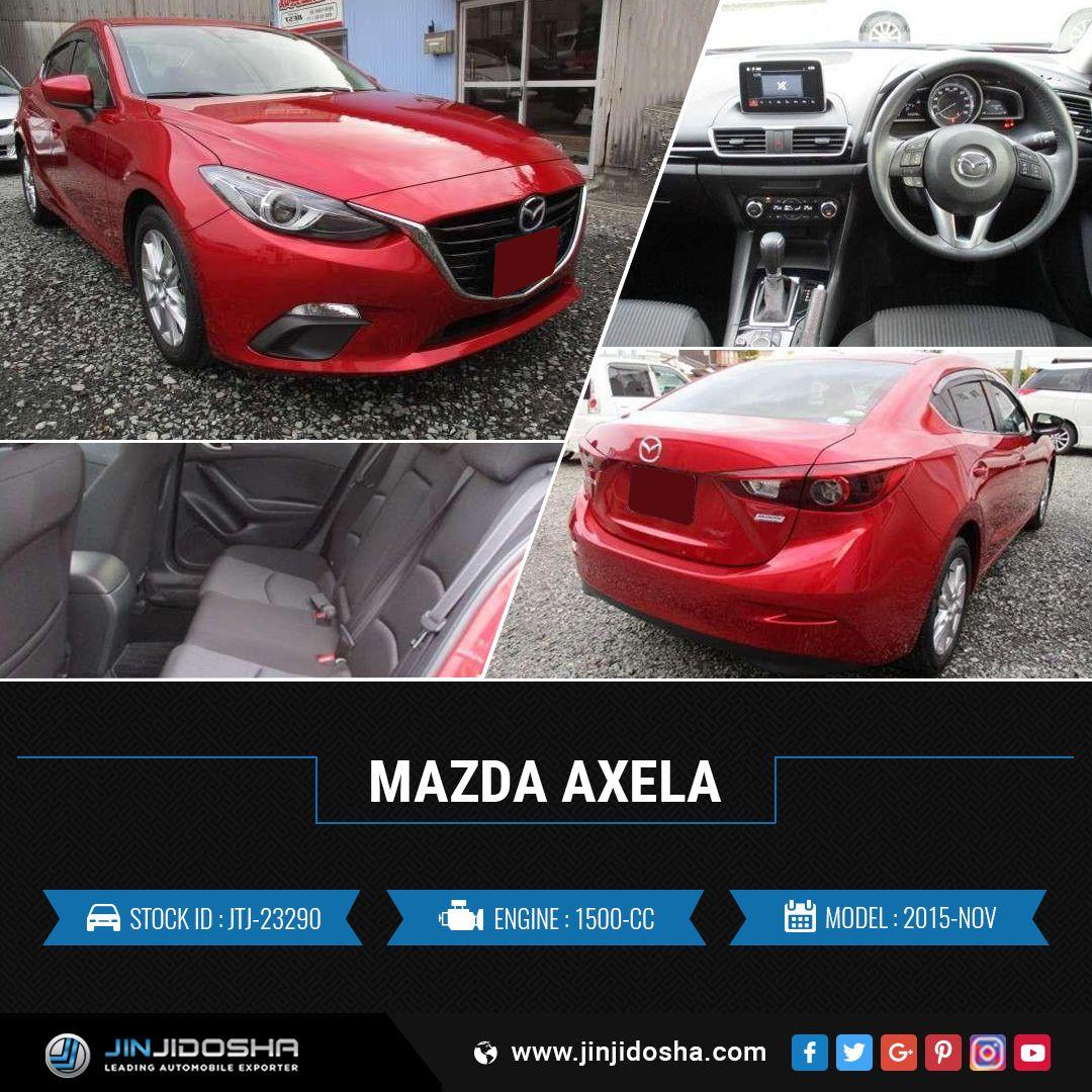 We Have Your Mazda Axela 2015! JinJidosha Japan