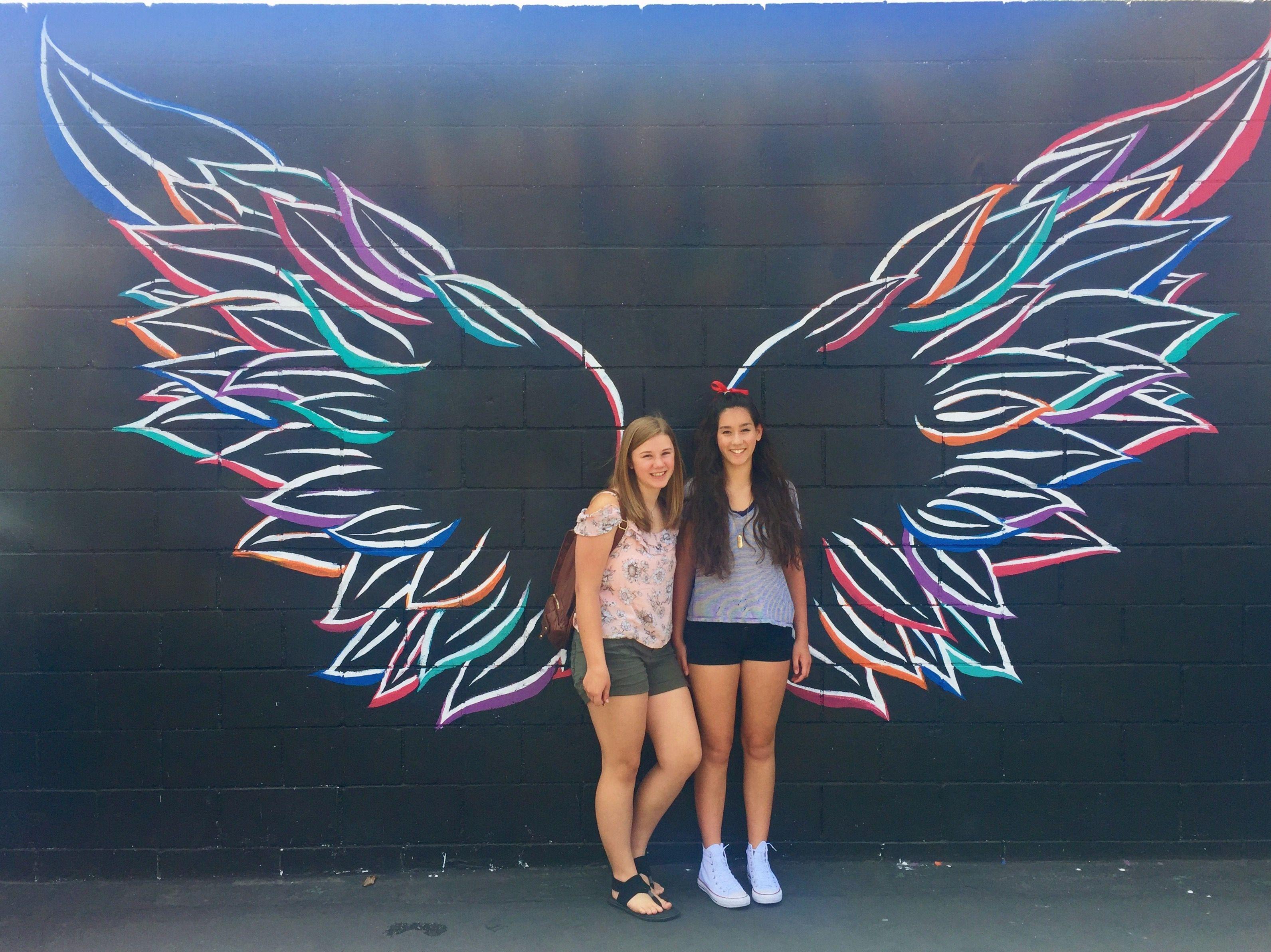 Pin by alessandra on BESTIE GOALSS Angel wall art