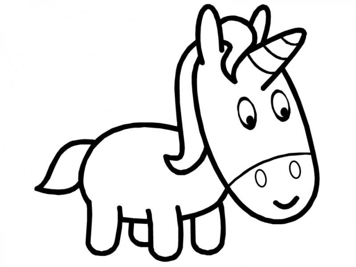 Unicorn coloring pages to print - Despicable Me Unicorn Coloring Page Photos Cartoon At Becoloring Com