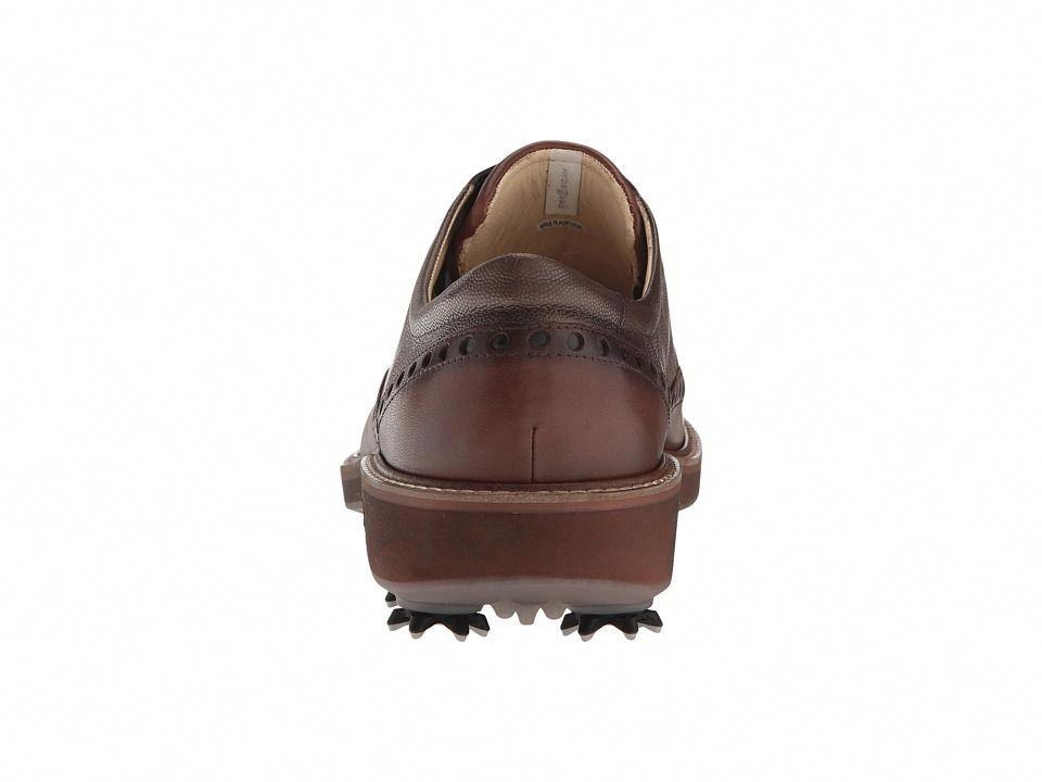5973c5d9264 ECCO Golf Golf Lux Men s Golf Shoes Bison Stone  mensgolfshoes ...