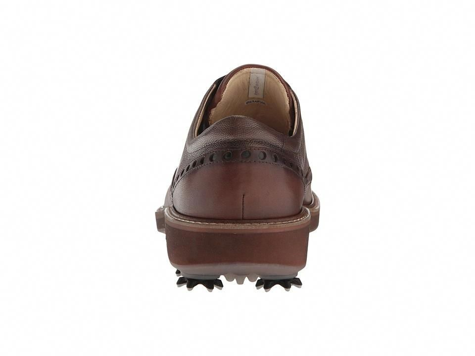 8075bb292ea ECCO Golf Golf Lux Men s Golf Shoes Bison Stone  mensgolfshoes ...