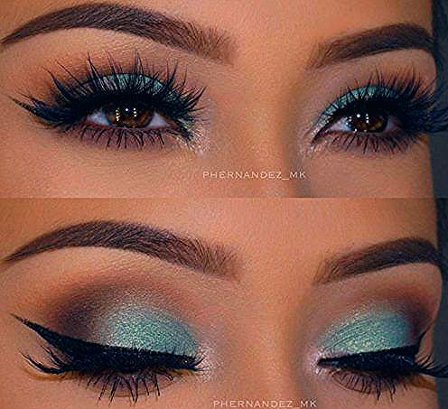 Makeup für braune Augen: 24 beste braune Augen Make-up-Ideen - Luise.site