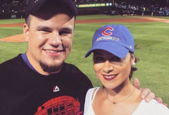 Image result for Kyle Schwarber and Paige Hartman
