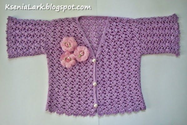 Fancy World In Crochet Free Pattern Of Crochet Summer Jacket
