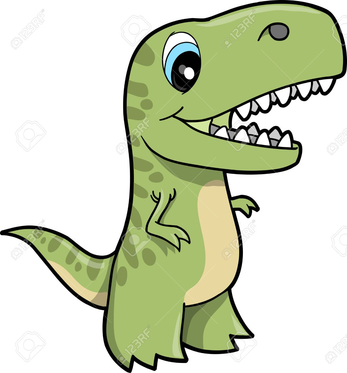 Tyrannosaurus Dinosaur Vector Illustration Royalty Free ...
