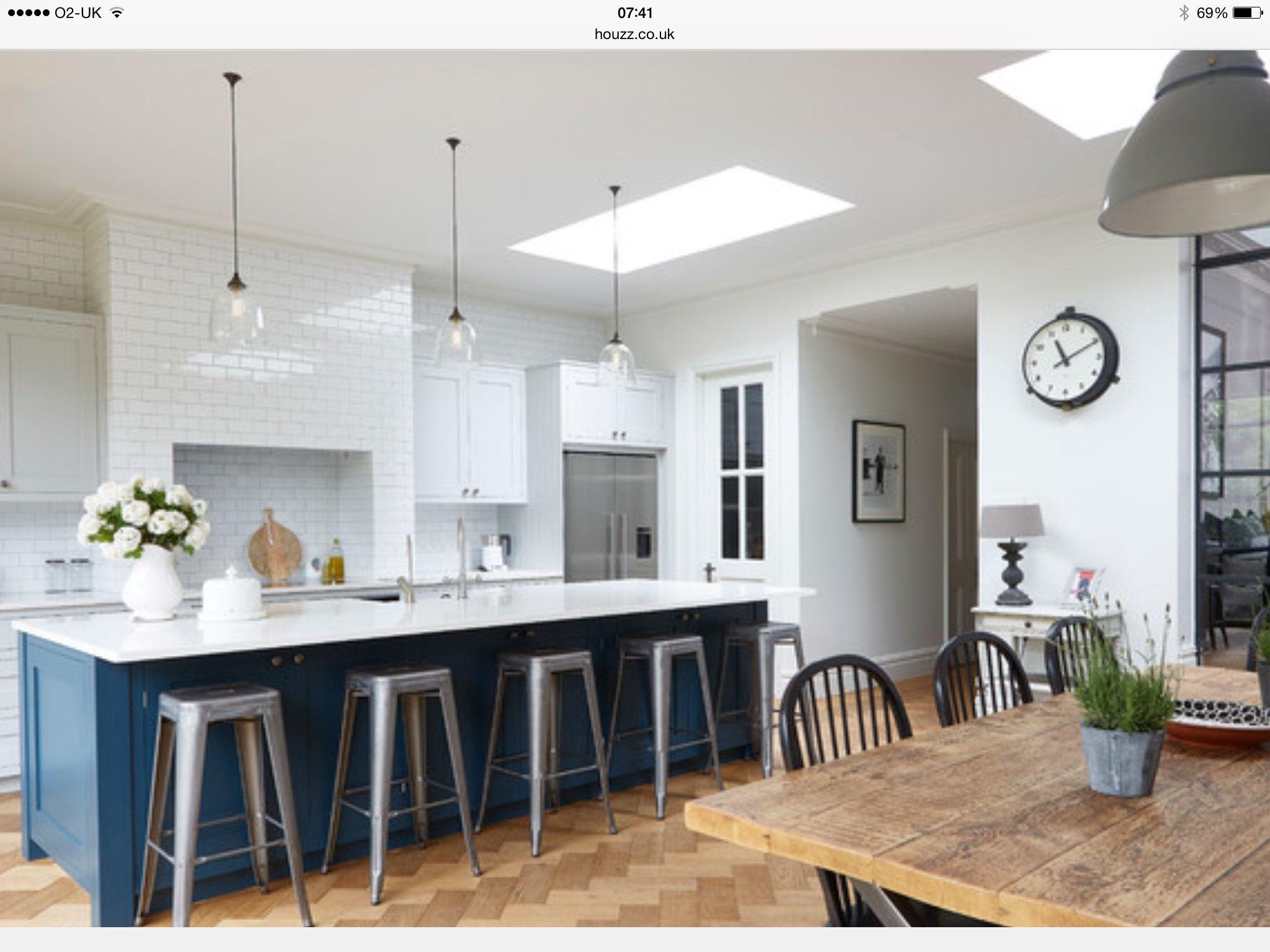 Open plan kitchen | Extension ideas | Pinterest | Open plan kitchen ...