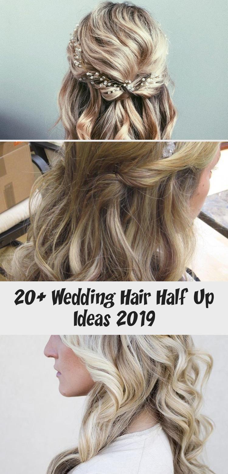 20+ Wedding Hair Half Up Ideas 2019 – WEDDING