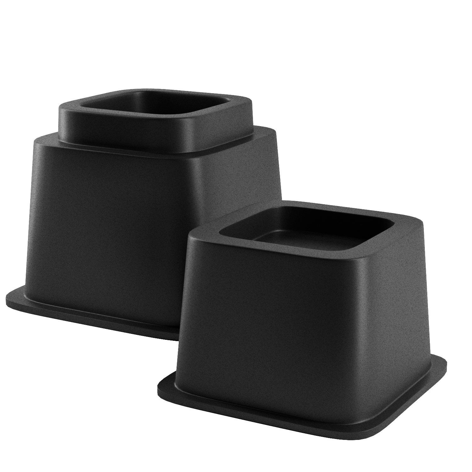 Home Intuition Heavy Duty Adjustable Bed Risers Or Furniture Riser