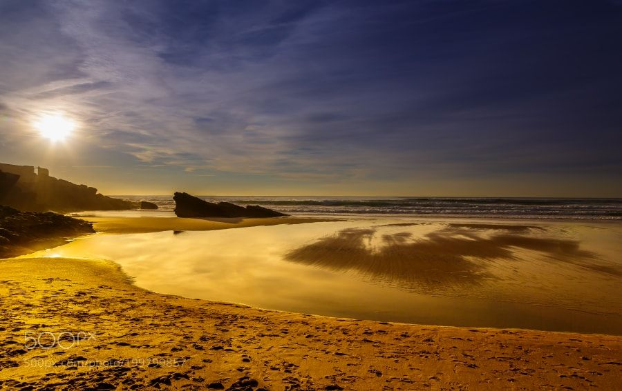 Popular on 500px : Praia do Guincho by IrenaSkurnsek
