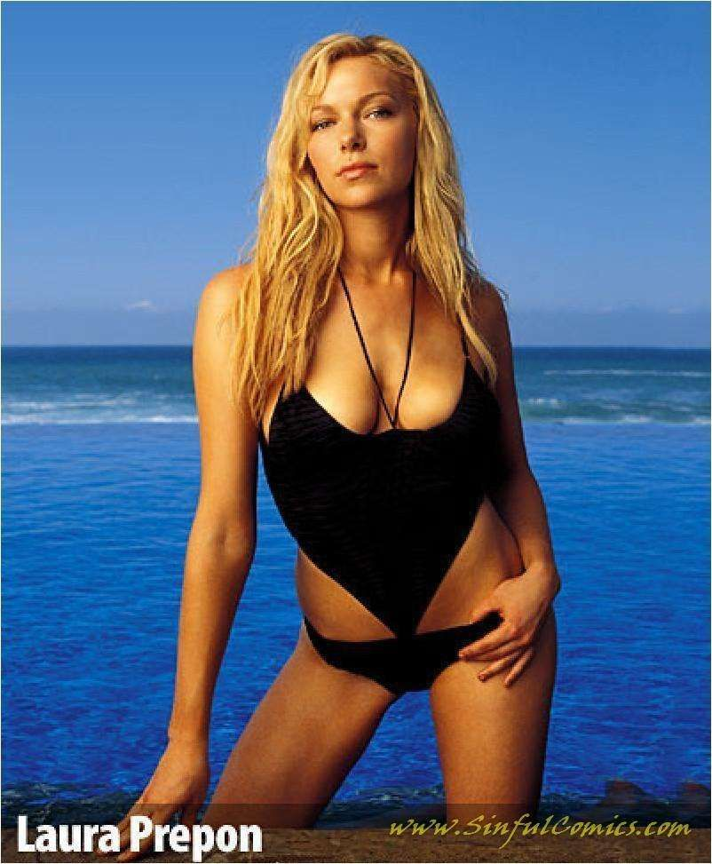 Laura prepon bikini idea something