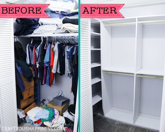 Do You Need Some Closet Organizer Ideas On A Budget Want To Make Your Look Special How We Fixed Up Our Diy Shelving From Last