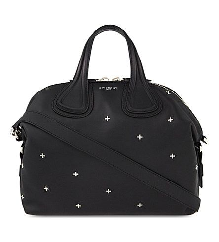 b6e66ae610 GIVENCHY Nightingale Leather Cross-Body Bag.  givenchy  bags  shoulder bags   hand bags  leather