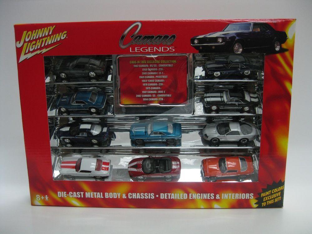 Johnny Lightning Camaro Legends Exclusive Paint Die-Cast 10