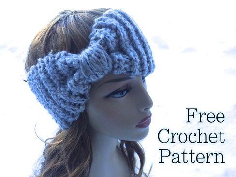 Free Crochet Pattern Ear Warmer Super Bulky Chunky Yarn Swellamy Awesome Chunky Crochet Ear Warmer Pattern