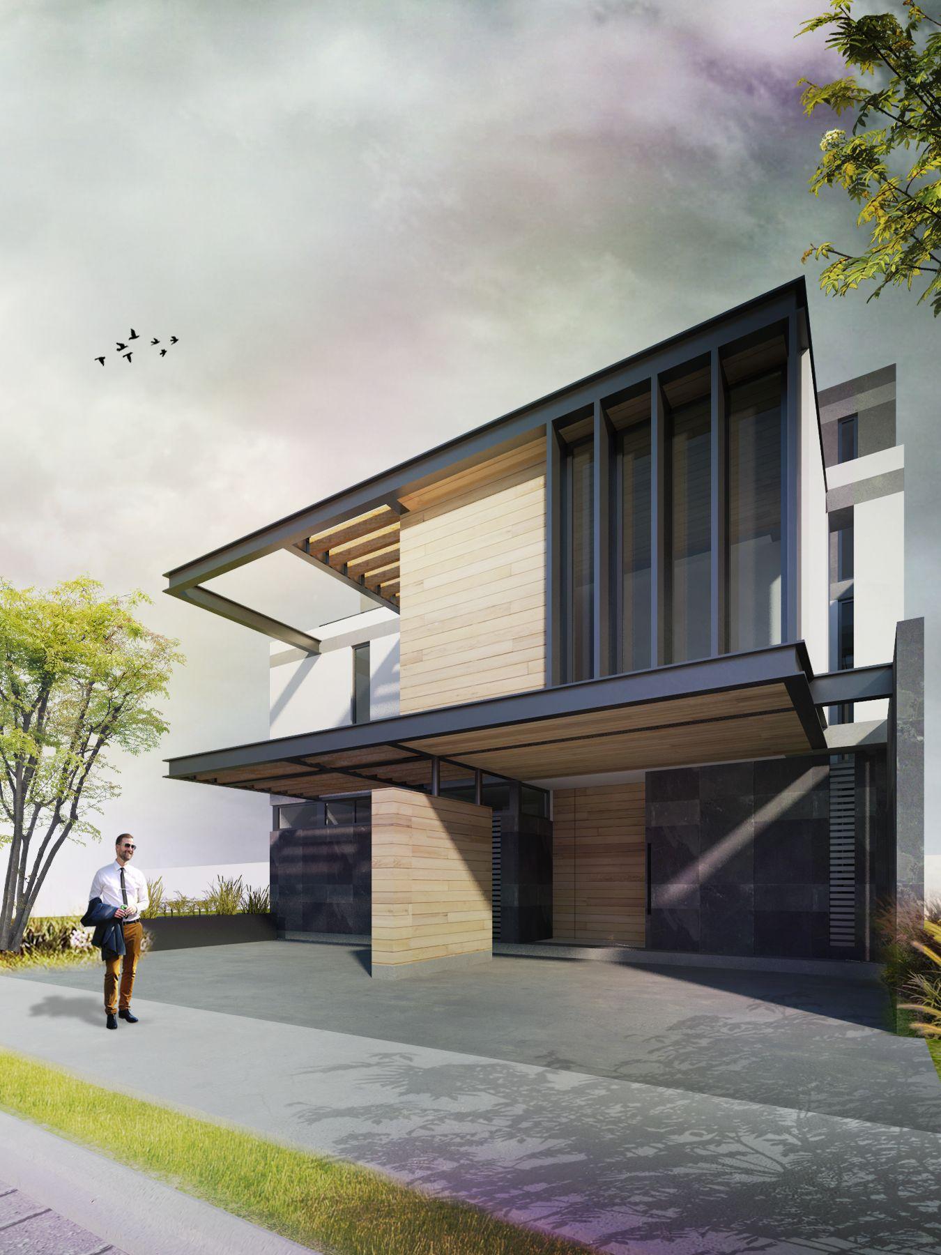 Arquitectura Fachadas De Casas Modernas Casas Modernas: Fachadas De Casas Modernas, Arquitectura Casas Y