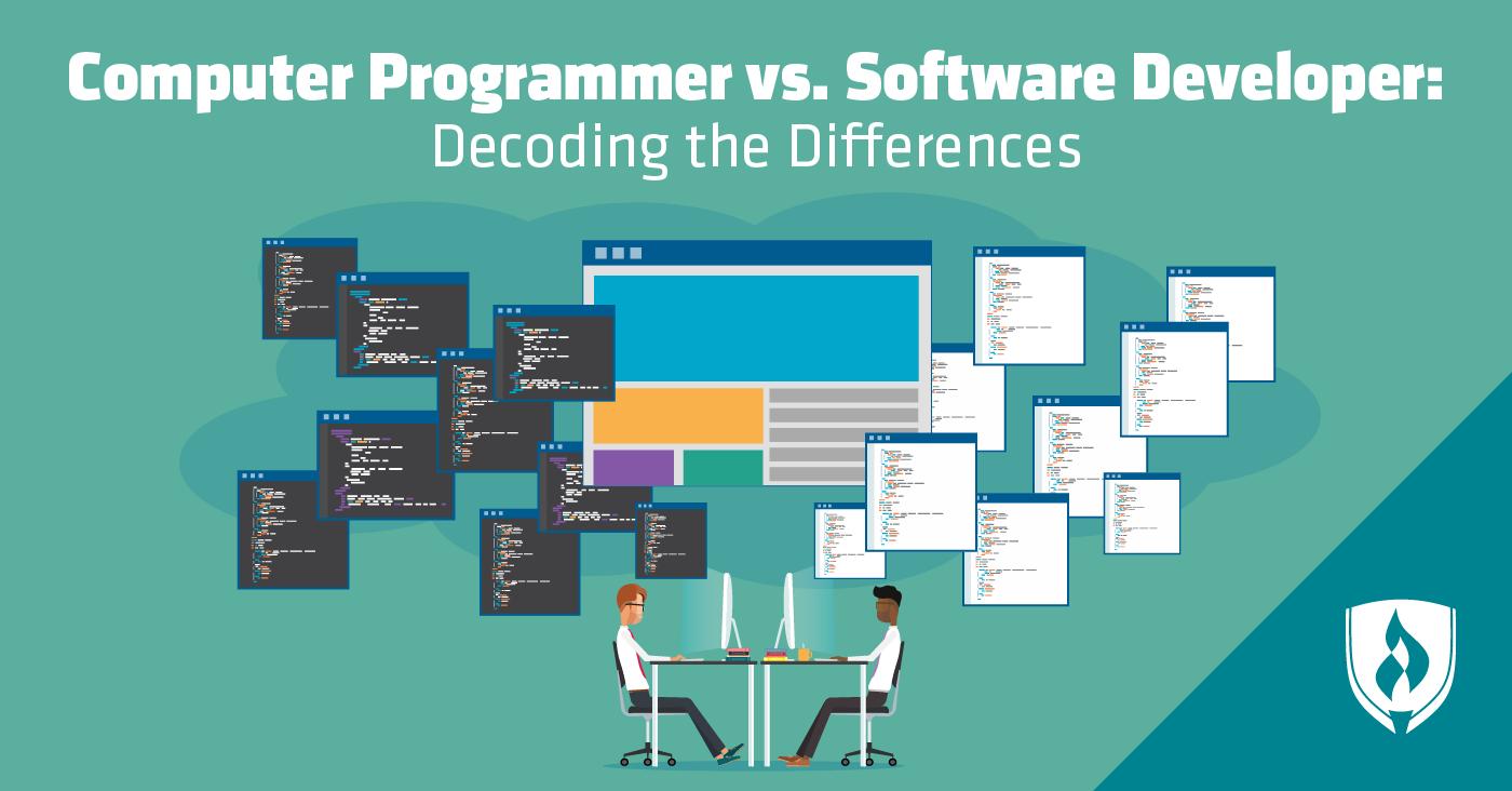 Computer Programmer vs. Software Developer Decoding the