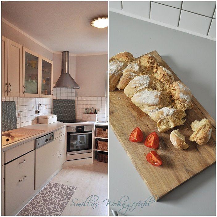 ENDLICH! neue alte Küche mit Kreidefarbe - küche eiche rustikal verschönern
