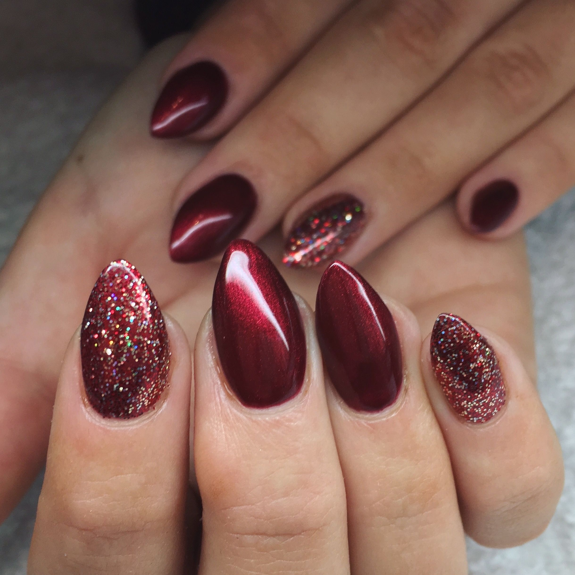 Christmas Nails Shellac: CND Shellac Lecente Glitter Winter Wonderland (With Images