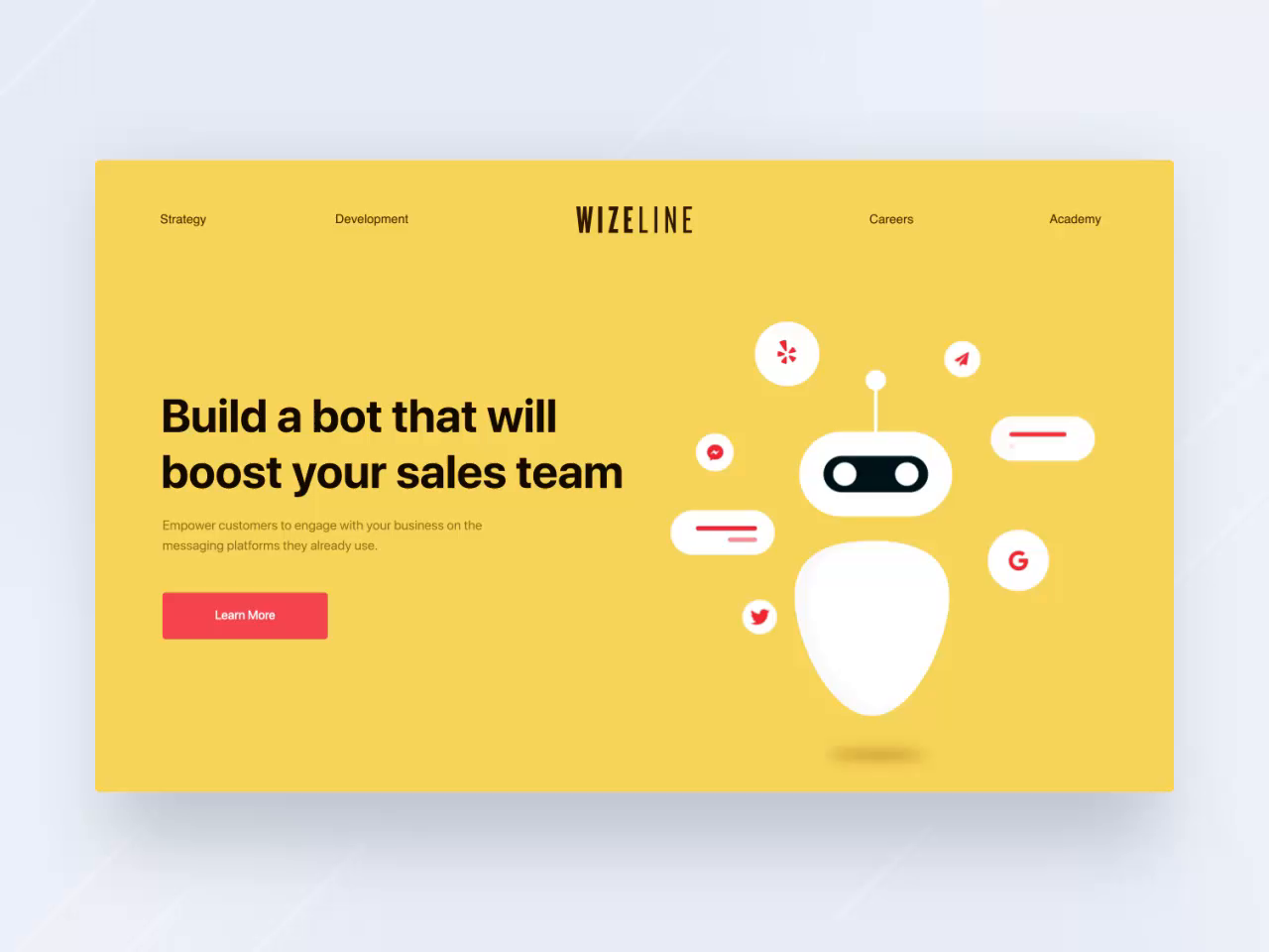 Wizeline Marketing Website Design By Ramotion In 2020 Web Design Website Design Best Web Design