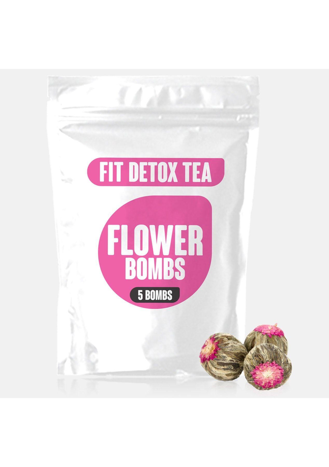 Fit detox tea flower bombs flower tea fit tea detox