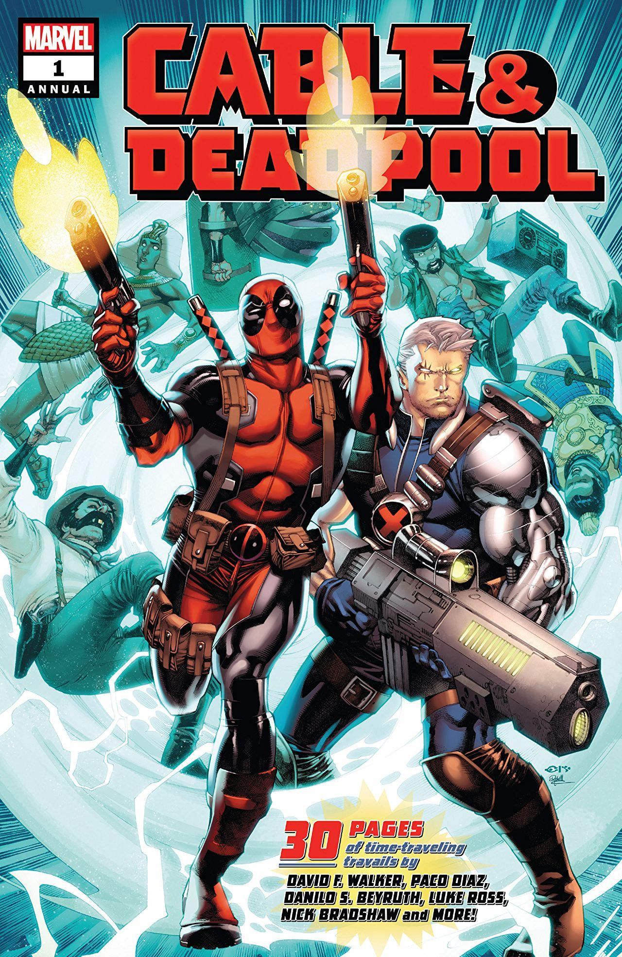 Cable Deadpool Annual 1 Advance Review I Hope You Like Doctor