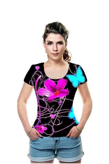By Elena Indolfi, OArtTee specializes in creating amazing, vibrant and colorful Wearable Art