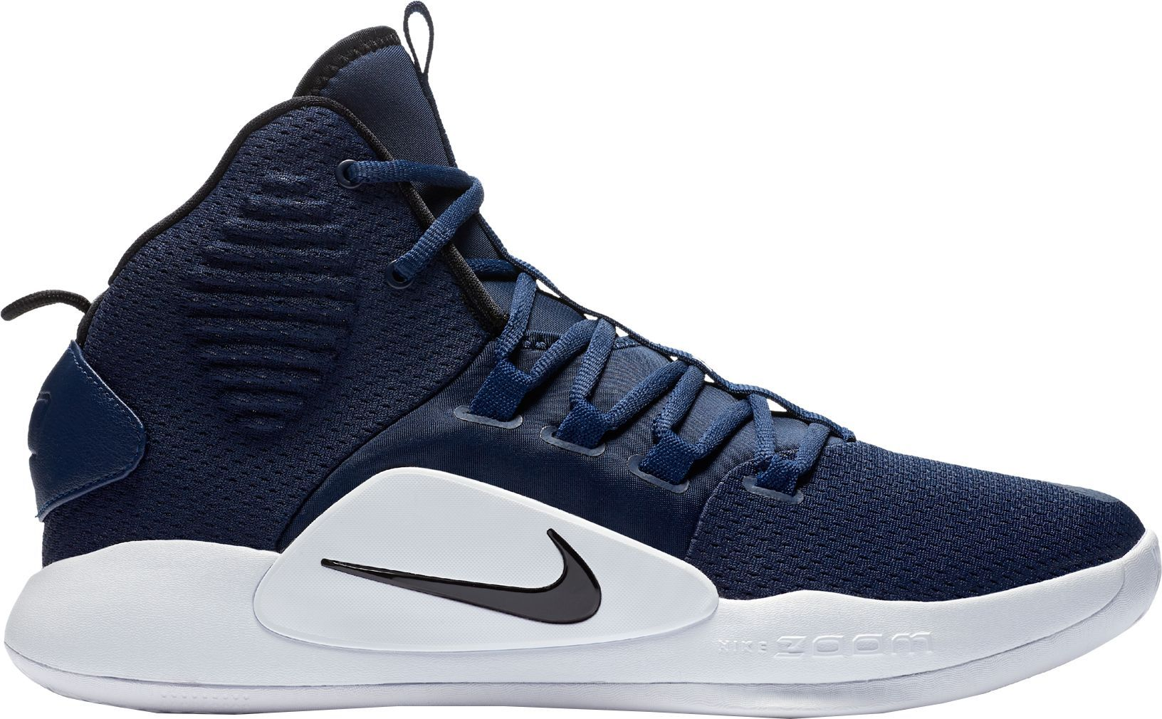 half off b55f9 4c919 Nike Mens Hyperdunk X Mid TB Basketball Shoes, Blue