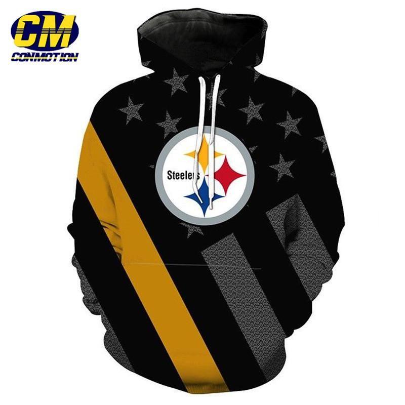 size 40 d5278 cba1e NFL American Football Fashion 3D Hooded Sweatshirt Cool ...
