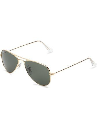 140adeb277f Ray-Ban AVIATOR SMALL METAL - ARISTA Frame CRYSTAL GREEN Lenses 52mm  Non-Polarized ❤ Ray-Ban Sunglasses
