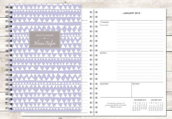 custom student planner