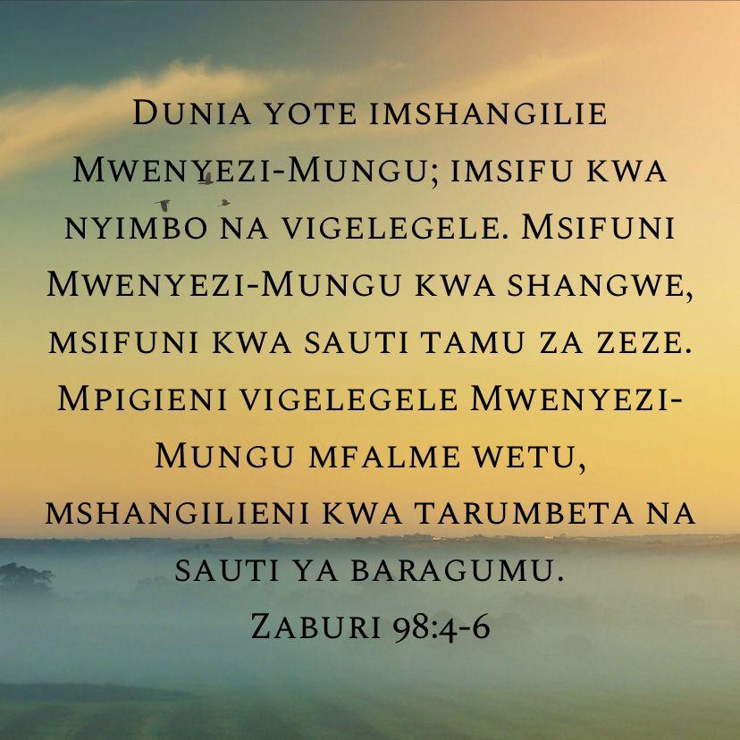 Pin On Bible Verses Swahili Africa Mungu Yesu Bibilia