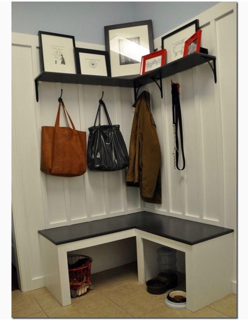 Corner Shelf And Bench Mud Room Storage Mudroom Cubbies Laundry Mud Room