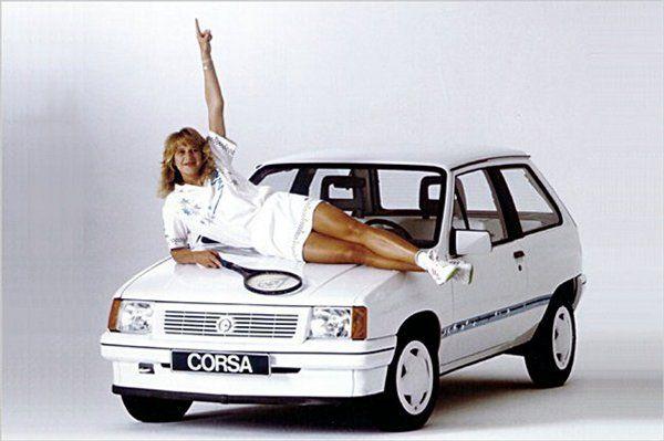 Opel Corsa Steffi Graff 1988 Opel Opel Corsa Celebrity Cars A