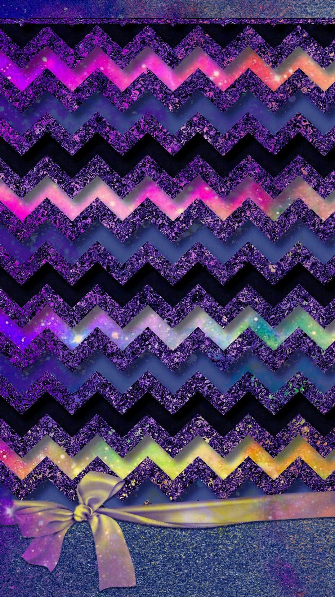 Glittery Chevron Design Blue Ver Made By Me Blue Glitter Chevron Patterns Sparkles Bows Wal Chevron Phone Wallpapers Chevron Wallpaper Bling Wallpaper