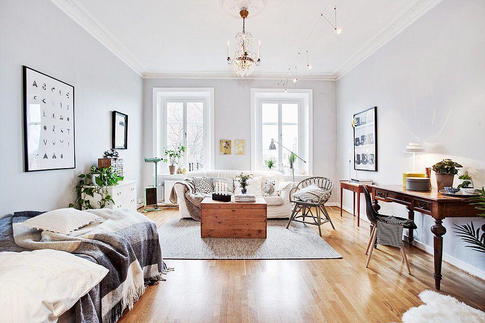 One Open Space Small Room Design Home Interior