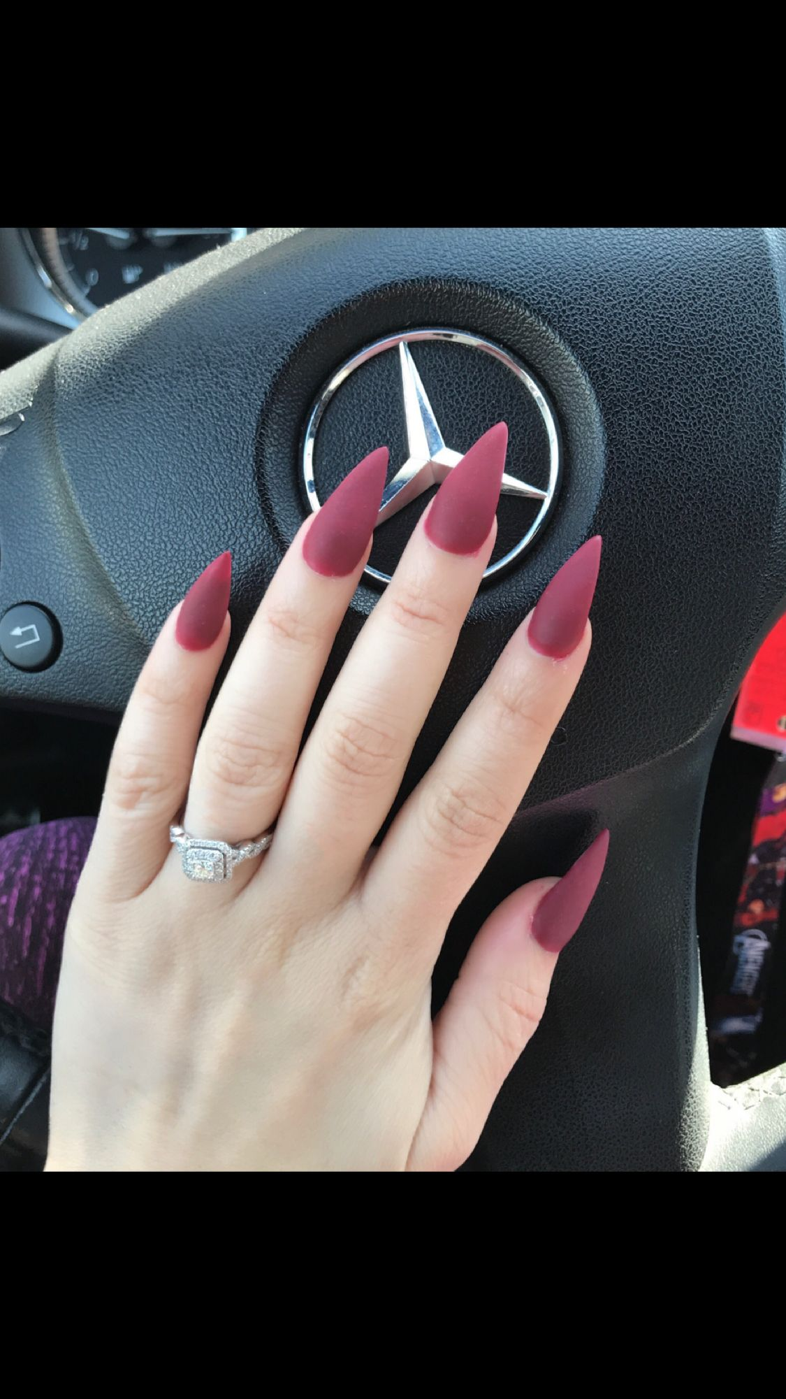 Matte acrylic nails, nails by Lourdes Merced Ca, Main St. girlz ...