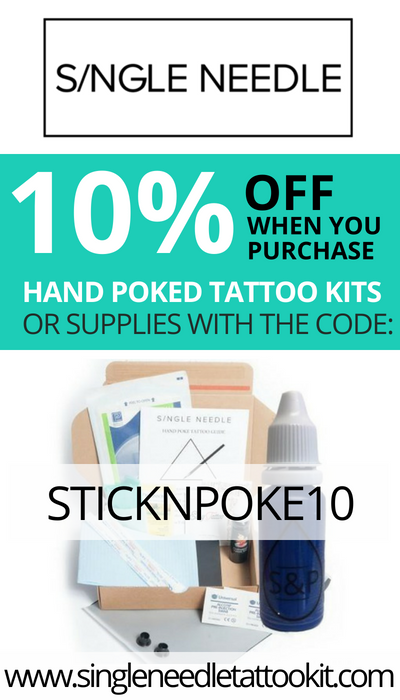 Photo of Stick and Poke Aftercare • Stick and Poke Tattoos