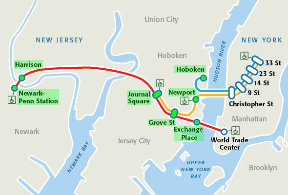 hotels near nyc path stations | Travel in 2019 | Map of new ...