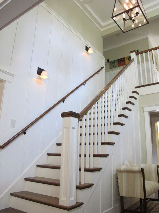 Wainscoting Stair Design Pictures Remodel Decor And