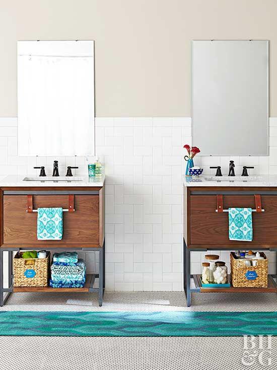 genius storage for awkward bathroom spaces beautiful bathrooms rh pinterest com