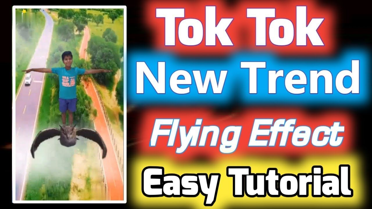 Tiktok New Trend Flying Effect Video Editing Tutorial Tiktok Video Editi Tiktok Tiktokflyingeffect Tiktoknewtr Editing Tutorials New Trends Video Editing