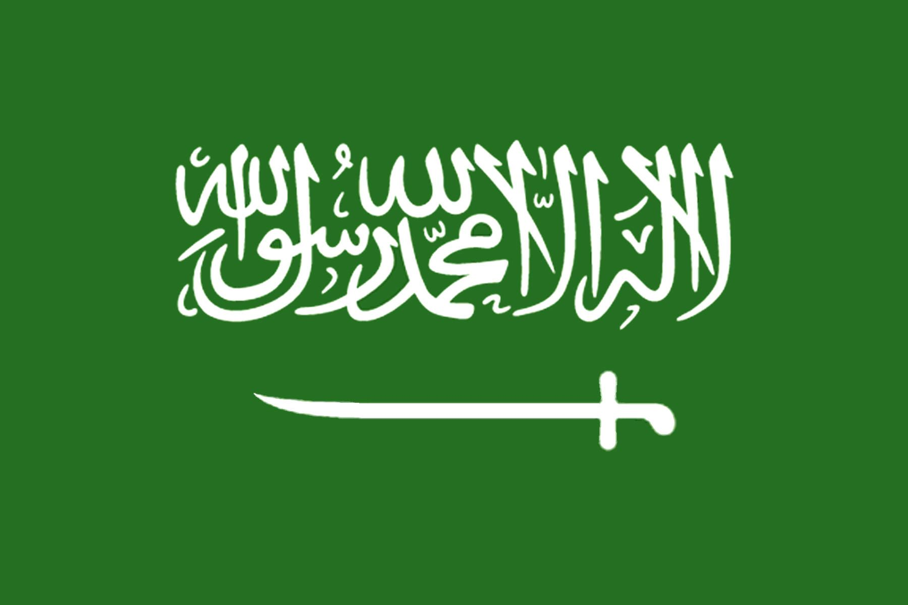 The Flag Of This New Union Was Once Again A Red White Black Tricoloured Flag With The Golden Hawk Of Qureish Saudi Arabia Flag Saudi Flag Flags Of The World